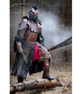 Métallique armure, plein Orc, Traiter