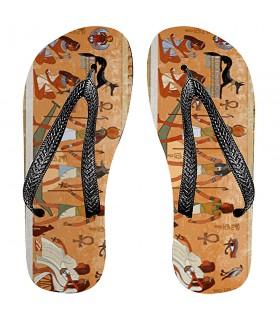 Flip flops de l'été Égyptien