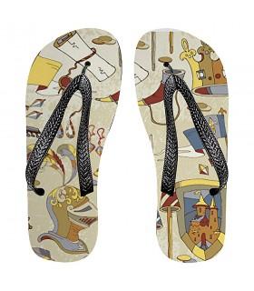 Flip flops de l'été Médiévale
