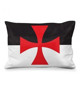 Coussin Rectangulaire Croix de malte les chevaliers Templiers