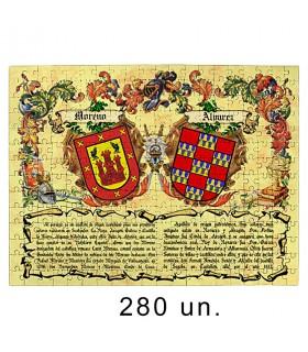 Puzzle Les Armoiries 2 Noms De Famille