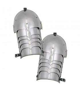 Les épaulières de plaques de métal, 1.6 mm