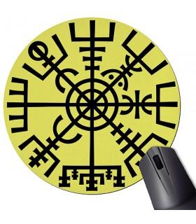 De Souris Tapis De Souris Rond Rune Viking