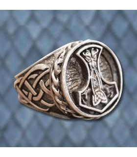 Bague Viking Marteau de Thor