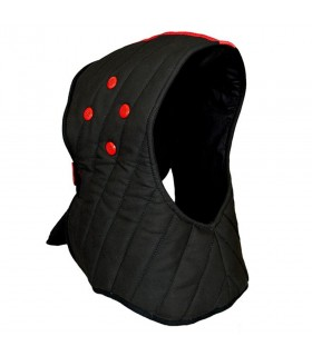 Capot de protection casque de pratique HEMA Dragon Rouge