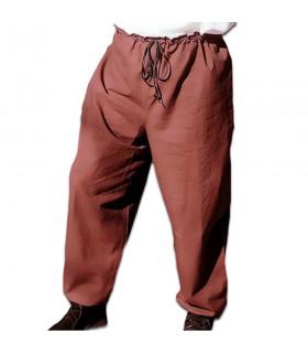 Pantalon médiéval avec cordon