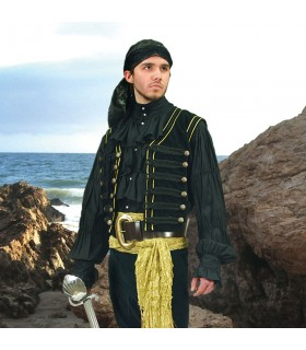 Gilet de Pirate en velours