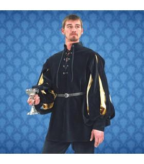 Chemise de la Renaissance Cavalier, velours