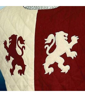 Gambesón médiévale les Lions de Baron