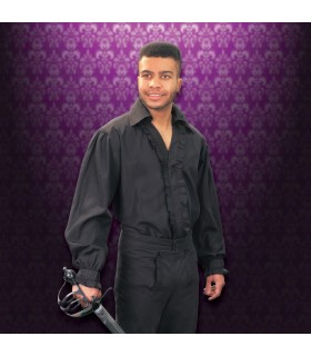 Chemise noire de Don Juan