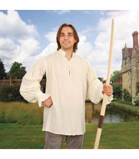 Chemise de Fête médiévale, de la crème