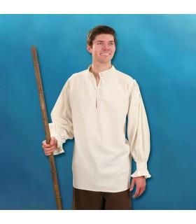 Chemise d'un Seigneur Féodal cousu à la main