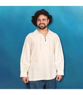 Chemise de la Renaissance cousu à la main