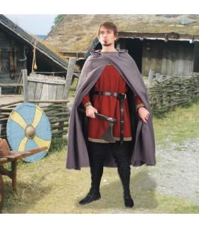 Cloak médiévale à capuchon