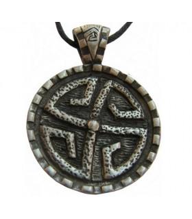 Pendentif bouclier de Pierre Celtique