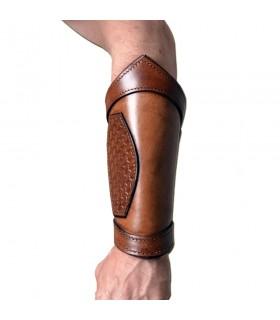 Bracelets, Celtique en cuir réglable en grandeur nature, paire de