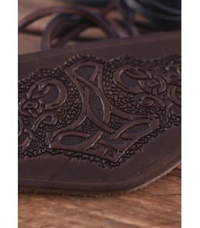 Bracelet-bracelet manches Marteau de Thor avec lacets