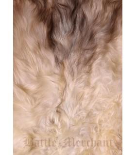 Peau de mouton nordique couleur de la lumière, de 110 cms.