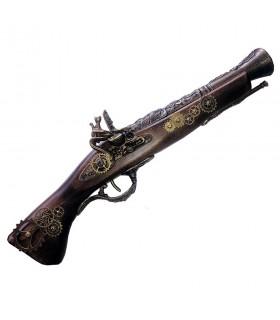 Pistolet tromblon à silex, SteamPunk III