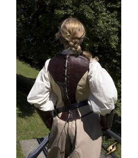 Corset médiévale en cuir Voyous