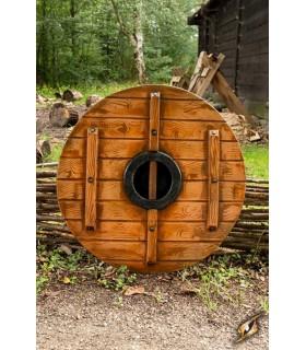 Bouclier viking Iarla Huginn et Muninn