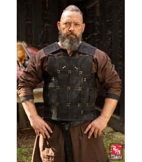 Armure médiévale Guerrier, cuir