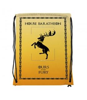 Sac à dos des chaînes de la Maison Baratheon de Game of Thrones (34x42 cm.)