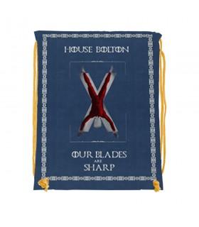 Sac à dos des chaînes de la Maison Bolton Game of Thrones (34x42 cm.)