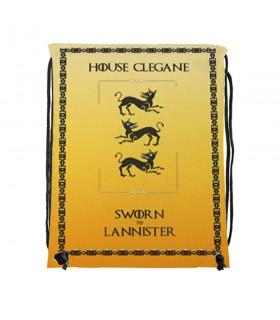 Sac à dos des chaînes de la Maison Clegane de Game of Thrones (34x42 cm.)