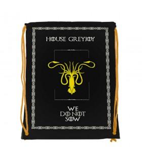 Sac à dos des chaînes de la Maison GreyJoy de Game of Thrones (34x42 cm.)