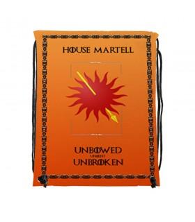 Sac à dos des chaînes de la Maison Martell Game of Thrones (34x42 cm.)