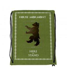 Sac à dos des chaînes de la Maison Mormont de Game of Thrones (34x42 cm.)