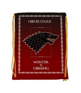 Sac à dos des chaînes de la Maison Stark de Game of Thrones (34x42 cm.)