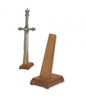 Exposant des épées (taille cadet) en vertical