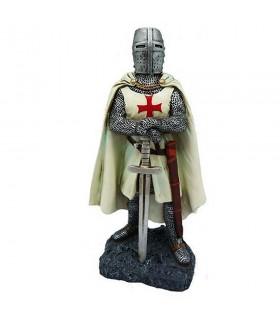 Figurine chevalier du temple avec l'épée