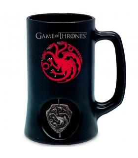 Pichet noir, de la maison Targaryen de Game of Thrones