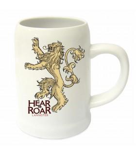 Pot en céramique de la maison Lannister de Game of Thrones