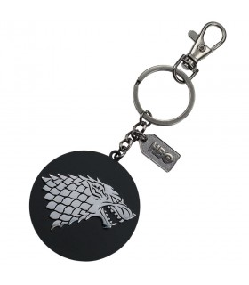 Métal porte-clés logo Stark de Game of Thrones