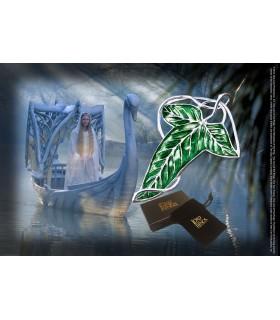 Broche en forme de Feuille de la Lorien, le Seigneur des Anneaux