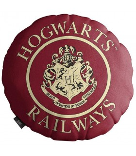 Coussin rond Howgarts, Harry Potter (45x45 cm)