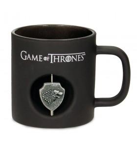 Coupe en Cristal noir Stark de Game of Thrones