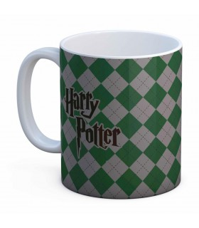 Tasse En Céramique Blanche Serpentard Harry Potter