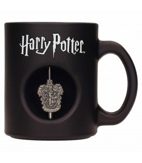 Coupe en Verre noir Gryffondor Harry Potter