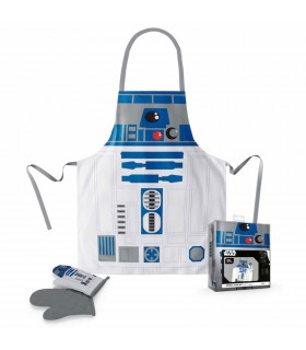 Tablier et mitaine R2-D2 de Star Wars