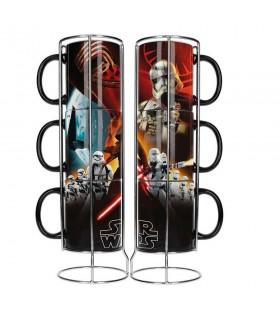 Ensemble de 3 bols empilables en céramique Star Wars. Ep7