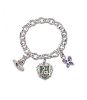 Bracelet Serpentard maison, Lumos, Harry Potter