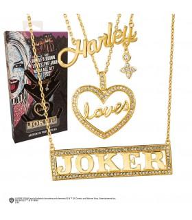 Set 3 pendaison de Harley, aime, Joker film Suicide Squad