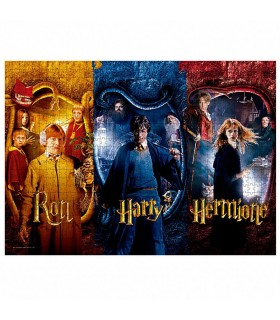 Puzzle de 1000 pièces de Ron, Harry et Hermione de Harry Potter