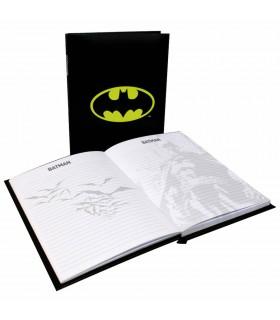 Livre avec la lumière de Batman, DC Comics