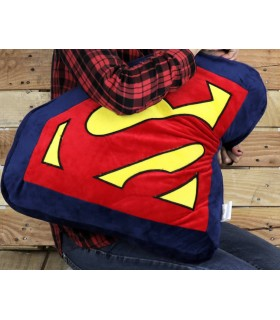 Coussin logo Superman DC Comics